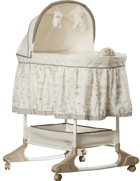 Rosthern Rocking Bassinet with Bedding