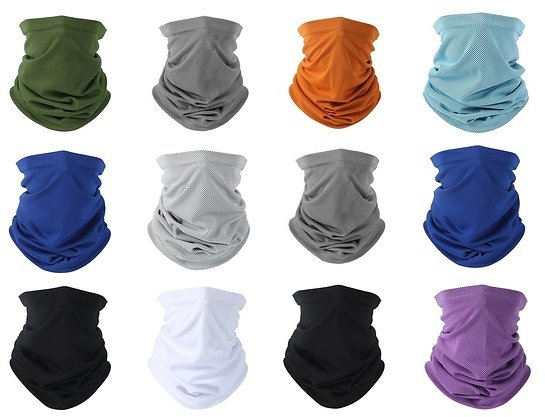 MKII Neck Gaiter Face Mask Cover for Men and Women
