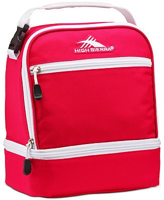 High Sierra Men's Stacked Compartment Lunch Bag & Reviews - All Accessories - Men