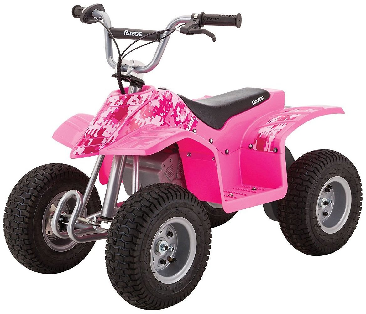 Razor 24-Volt Electric Powered Dirt Quad Ride On - for Ages 8+