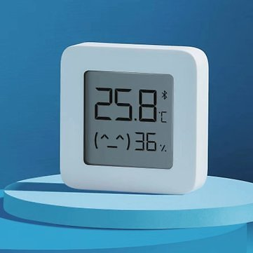 [Newest Version] XIAOMI Mijia Bluetooth Thermometer 2 Wireless Smart Electric Digital Hygrometer Thermometer 1Pcs Work with Mijia APPHealth ManagementfromHealth,Beauty & Hairon Banggood.com