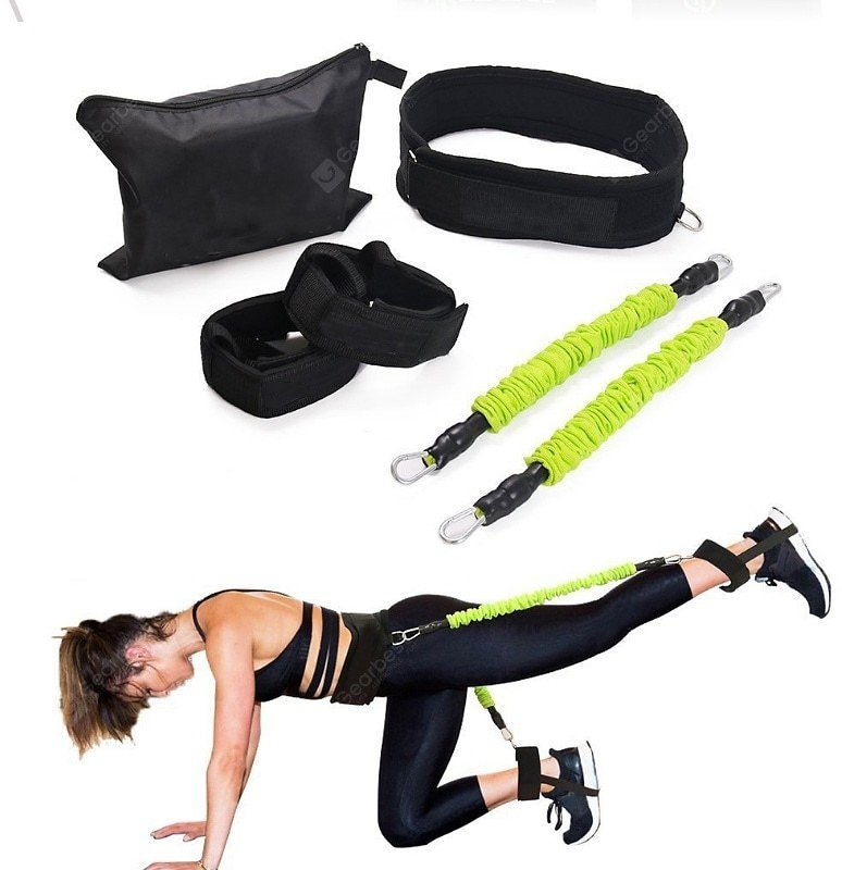 Factory Direct Sales of Latex Leg Bouncing Trainer Pull Rope Men and Women Basketball Sports Fitness Multi-function Pull Device Sale, Price & Reviews | Gearbest