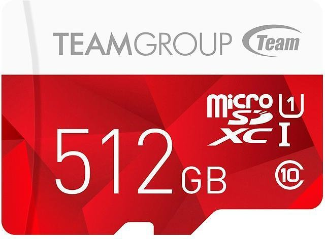 Team Group 512GB Color MicroSDXC UHS-I/U1 Class 10 Memory Card with Adapter, Speed Up to 80MB/s (TCUSDX512GUHS54) - Newegg.com