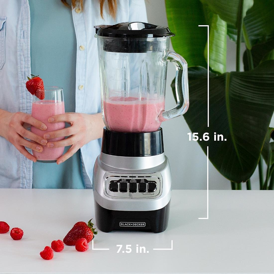 Black & Decker PowerCrush Multi-Function Blender