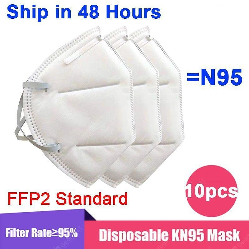1-50PCS KN95 N95 Mask Disposable Breathable Protective Non-Medical Fack Masks For Health Sale, Price & Reviews | Gearbest