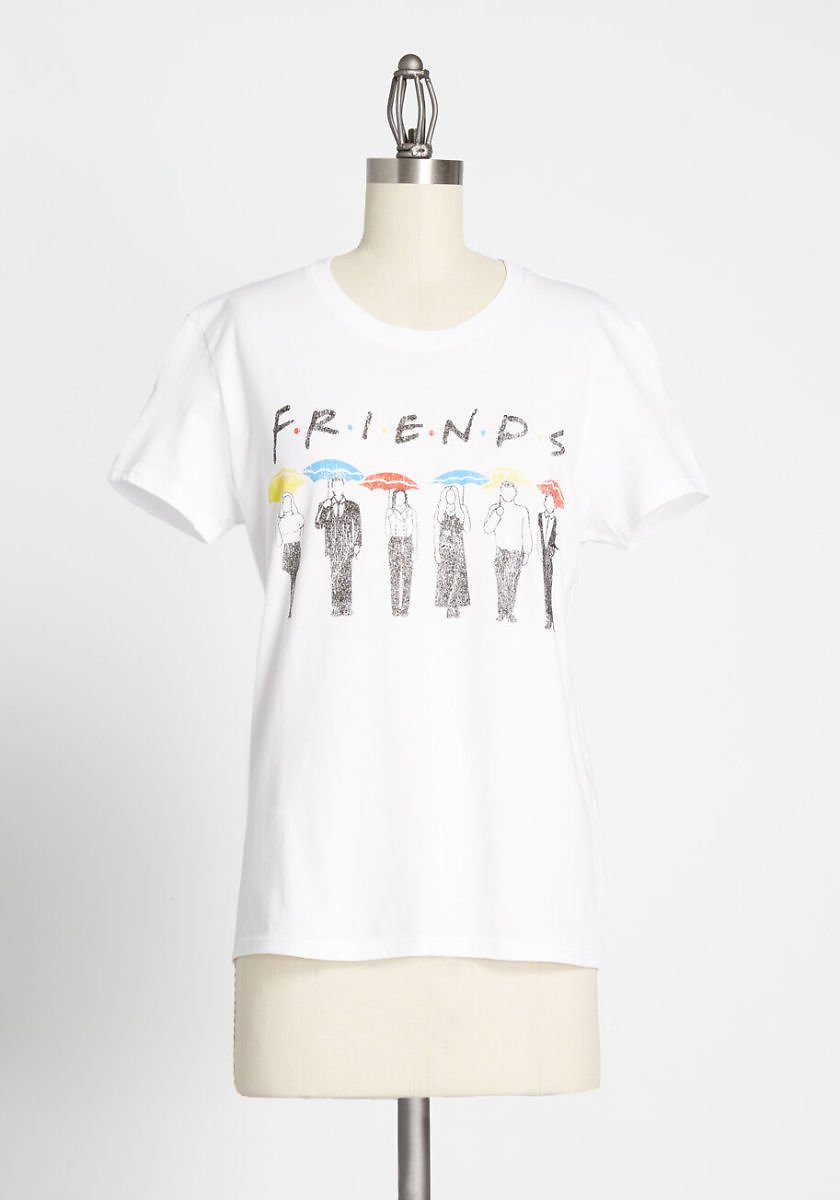 Friends Umbrellas Graphic Tee