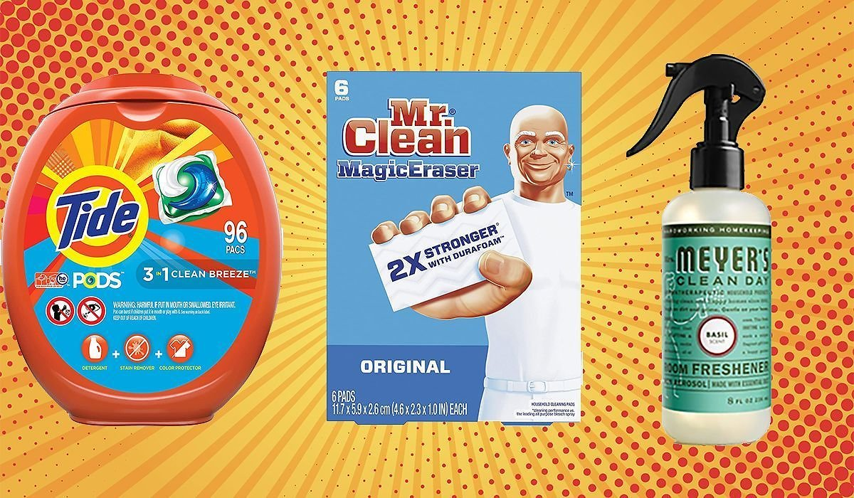 Running Out of Tide Pods and Mr. Clean Magic Erasers? Amazon Is Giving You $10 to Spend On Household Essentials