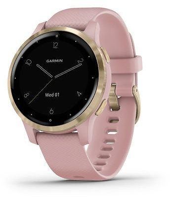 Garmin Vivoactive 4S Smartwatch (Dust Rose/Gold) 010-02172-31