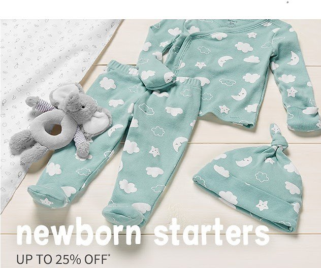 NEW Little Baby Basics Up to 25% OFF | Carter's | Free Shipping