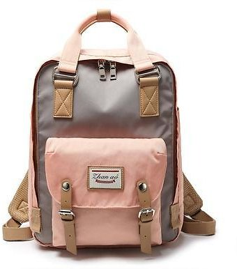 New Fashion Casual Backpack Small Middle School Student Bag Men and Women Donut Waterproof Backpack