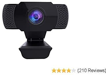 Wansview Webcam with Microphone, 1080P HD PC Webcam