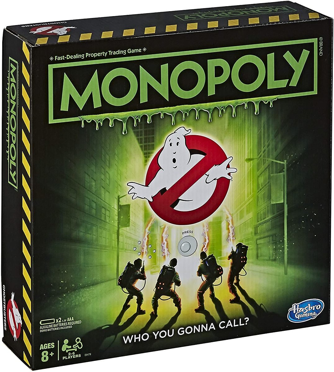 Monopoly Game Ghostbusters Edition
