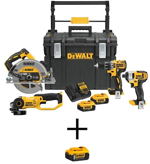 TODAY ONLY! 40 - 49% Off Tool Bundles By Milwaukee, DeWalt + More