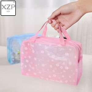 Waterproof Portable Makeup Cosmetic Toiletry Travel Makeup Cosmetic Bag
