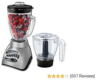 Oster Core 16-Speed Blender with Glass Jar, Black 23% Off