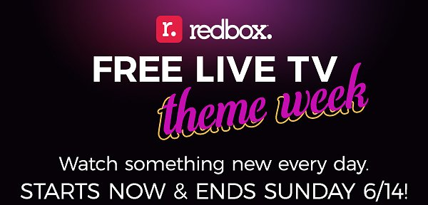 Free Live TV Theme Week – Something NEW Every Day