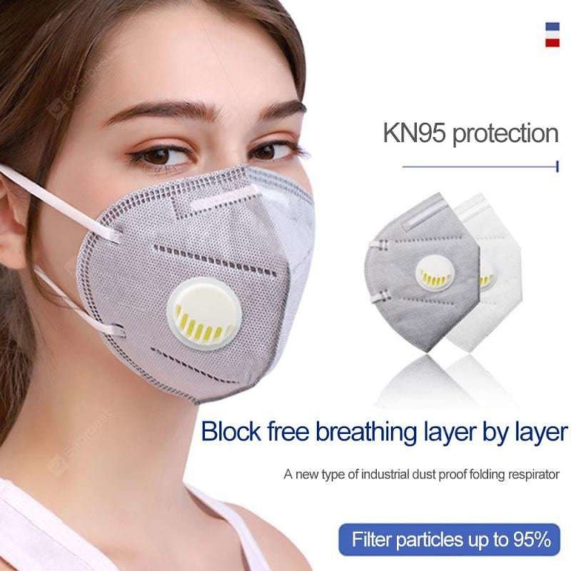 KN95 N95 Respirator Face Mask Disposable Breathable Protective Not Medical Masks for Health. Sale, Price & Reviews   Gearbest