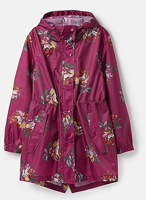 Love This Product Berry Floral Golightly Hooded Waterproof Zip-Up Jacket - Women