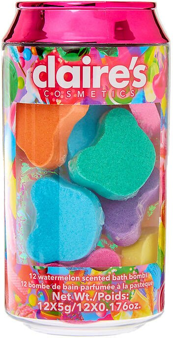 Candy Collection Bath Bomb Can Set - 12 Pack
