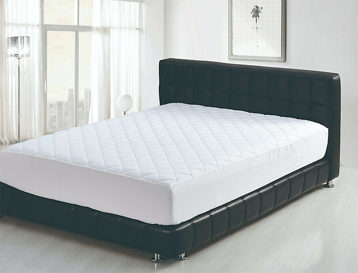Beauty Sleep Ultra Soft Hypoallergenic Quilted Mattress Pad