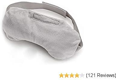 Paitree Heated Eye Mask for Dry Eyes, Moist Heat Eye Compress Pad for Pink Eye, Microwaveable Warm Compress for Eyes