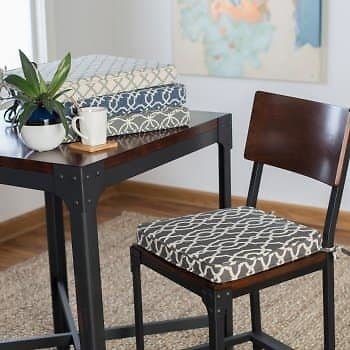 Belham Living Printed Indoor Dining Chair Cushion