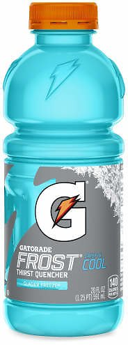Gatorade Gatorade Thirst Quencher Frost Glacier Freeze 20 Fluid Ounce Plastic Bottle - Big Lots