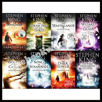 The Dark Tower Series By Stephen King (E-B0K&||E-MAILED|| 5SEC