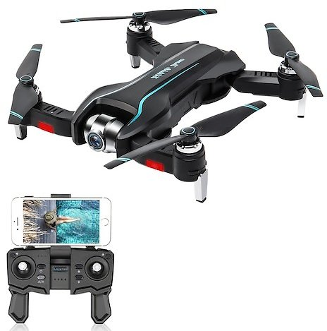 S17 Foldable WIFI FPV RC Drone Quadcopter with 4K Ultra HD Camera Toys