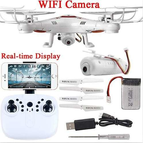 Wifi Real Time Fvp Helicopter X5U Drones with Camera HD De Controle Remotol Helicopter Drone RC