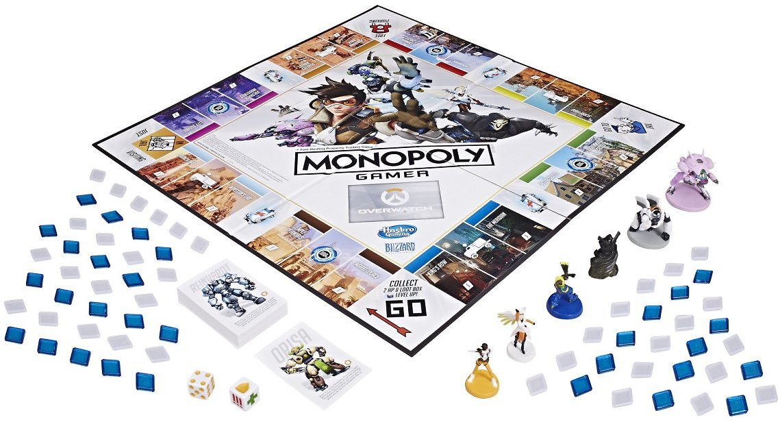 Monopoly Gamer Overwatch Board Game