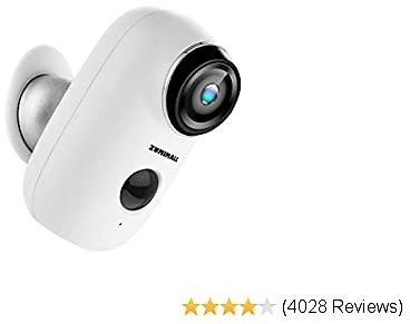 Wireless Rechargeable Battery Powered WiFi Camera - Deal