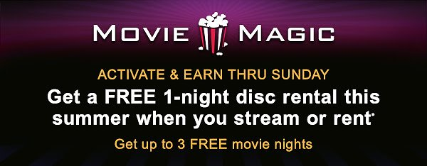 FREE MOVIE NIGHTS When You Activate & Stream or Rent!