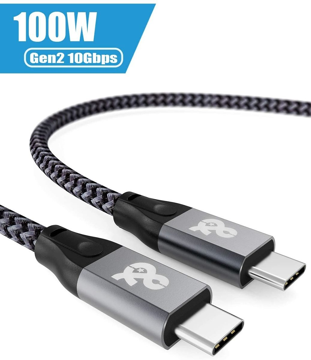 USB C to USB C 3.1 Gen 2 Cable (10 Gbps-3.3Ft) USB C Video Cable