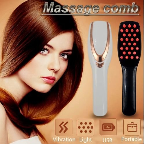 Scalp Massager Anti Hair Loss Hair Growth Comb Massage Stress Relax Electric Regrowth Hair Massager Brush Device Care Massage Comb Hair Styling Tools & Salon from Health,Beauty & Hair on Banggood.com