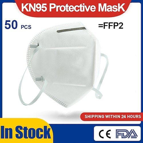10PCS US KN95 Face Mask Disposable Breathable Protective Masks Non-Medical Mask for Health