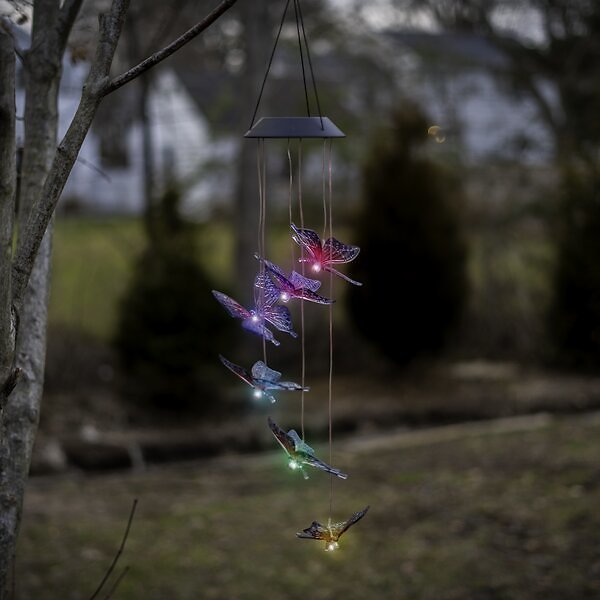 Color Changing Mobile Wind Chime