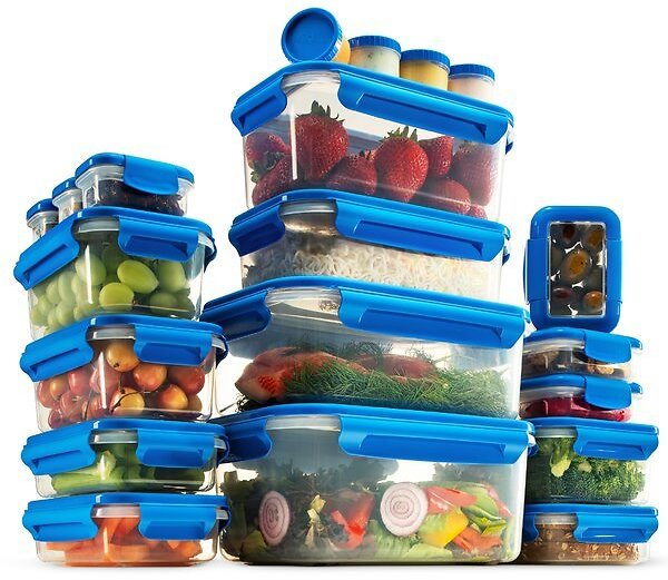 Lacey Airtight 20 Container Food Storage Set