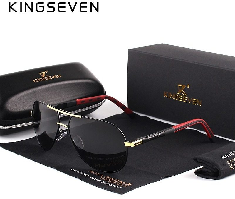 Men Vintage Aluminum Polarized Sunglasses Classic Brand Sun Glasses Coating Lens Driving Eyewear For Men/Women
