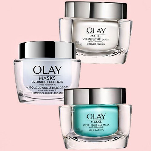 1.7-Oz Olay Overnight Gel Mask