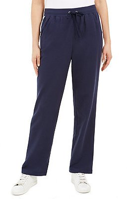 Karen Scott Petite French Terry Side-Striped Pants, Created for Macy's & Reviews - Pants - Petites