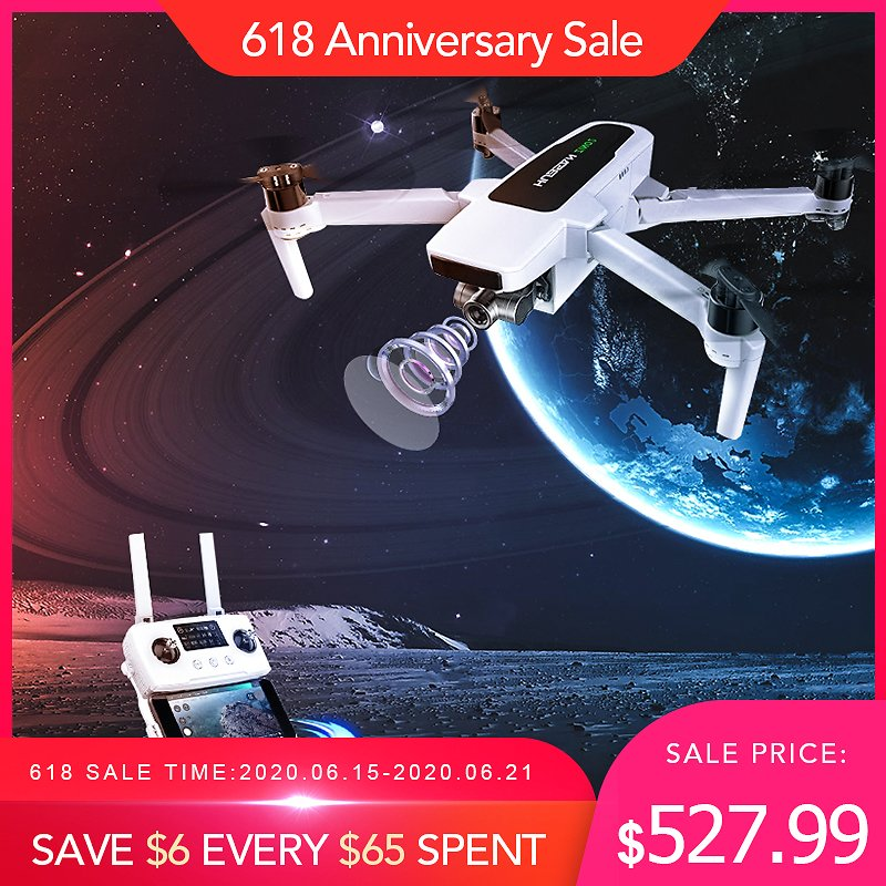 In Stock Original Hubsan Zino 2 LEAS 2.0 Drone GPS 8KM 5G WiFi FPV with 4K 60fps UHD Camera 3-axis Gimbal RC Quadcopter Drones