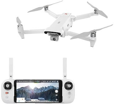 FIMI X8 SE GPS RC Drone Quadcopter 5KM FPV 3-axis Gimbal 4K Camera 33mins Flight Time - White China