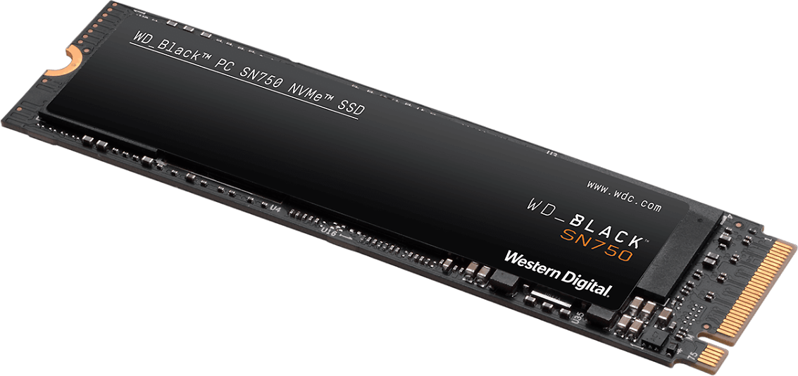 Internal Drives WD_BLACK SN750 NVMe™ SSD from Western Digital -  Without Heatsink
