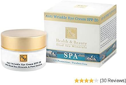 Health and Beauty Dead Sea Anti-wrinkle Eye and Neck Cream SPF-20