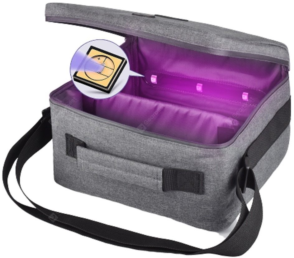 MOYEAH UVC Led Sterilizer Bag For CPAP Machine Cleaning Disinfection Box For Tube Mask Accessories Sale, Price & Reviews | Gearbest