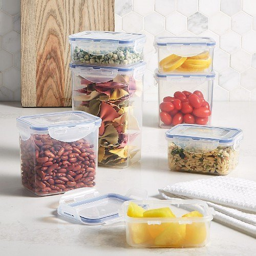 14-Pc Lock N Lock Easy Essentials Containers