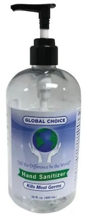 Global Choice Unscented Hand Sanitizer (16-Oz)