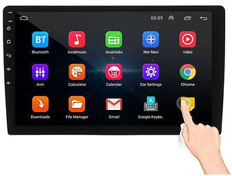 IMars 10.1Inch 2Din for Android 8.1 Car MP5 Player 1+16G IPS 2.5D Touch Screen Stereo Radio GPS WIFI FMCar Audio & MonitorfromAutomobiles & Motorcycleson Banggood.com