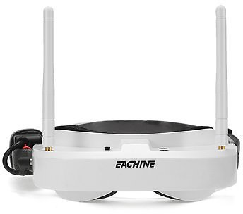 Eachine EV100 720*540 5.8G 72CH FPV Goggles With Dual Antennas Fan 7.4V 1000mAh Battery For RC DroneRC PartsfromToys Hobbies and Roboton Banggood.com